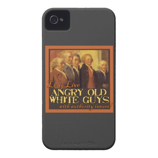 Angry Old White Guys...Like the Founding Fathers Case-Mate iPhone 4 Case