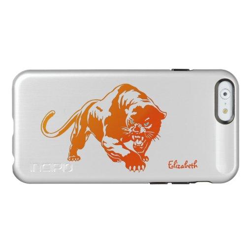 Angry Orange Transparent Tiger Incipio Case Incipio Feather® Shine iPhone 6 Case