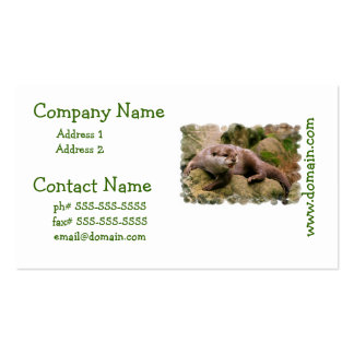 Angry Otter Business Cards
