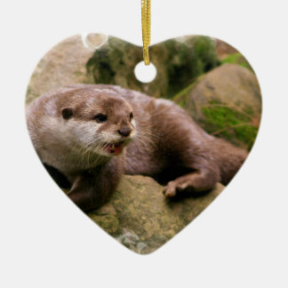 Angry Otter Ornament