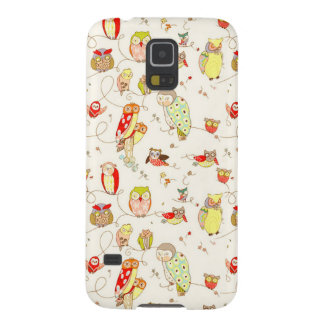 Angry Owls Galaxy S5 Cover