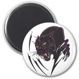 Angry Panther Fridge Magnets