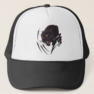 Angry Panther Trucker Hat