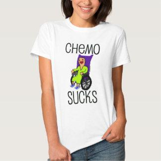 Angry Patient Chemo Sucks Tee Shirt