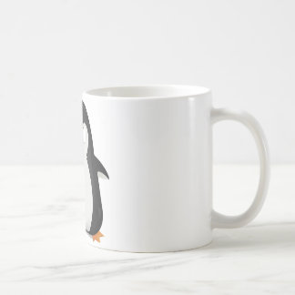 Angry penguin design coffee mug
