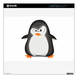 Angry Penguin Glitter Photo Print Decal For The MacBook