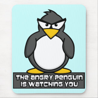 Angry Penguin Mouspad Mouse Pad