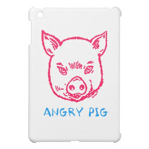 angry pig case for the iPad mini