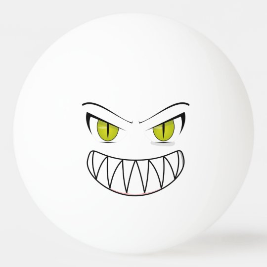 Angry ping pong ball zazzle for Small ping pong balls