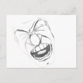 Angry postcard