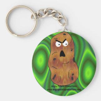 Angry Potato Keychain Design #2