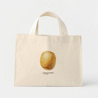 Angry Potato Mini Tote Bag