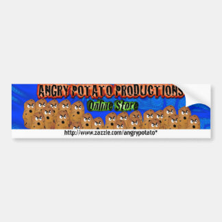 Angry Potato Productions--Online Store Bumper Stic Bumper Sticker