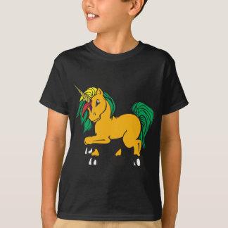 Angry Punk Unicorn Graphic Design T-Shirt