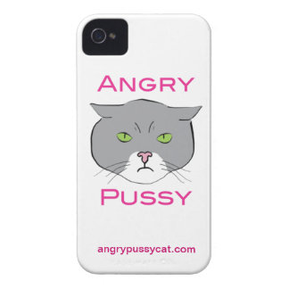 Angry Pussy iPhone 4/4s Case