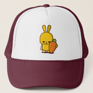 Angry Rabbit Trucker Hat