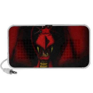 Angry Red Dragon Speakers