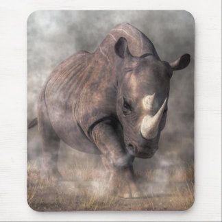 Angry Rhino Mouse Pads