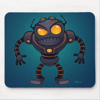Angry Robot Mouse Pads