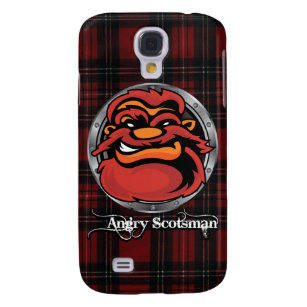Angry-Scotsman-Tartan Samsung S4 Case