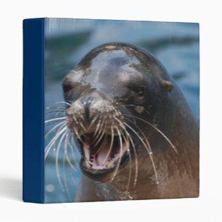Angry Sea Lion Binder