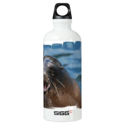 Angry Sea Lion SIGG Traveler 0.6L Water Bottle