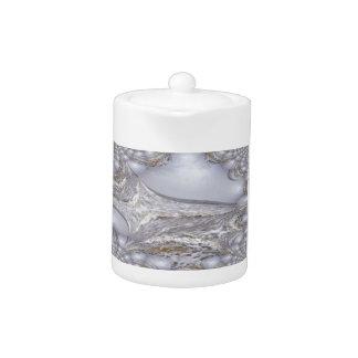 Angry Sea Waves Fractal Teapot