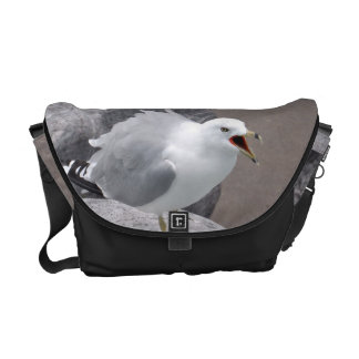 Angry Seagull Messenger Bags