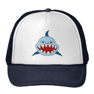 Angry Shark Trucker Hat