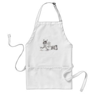 Angry Shopper Adult Apron