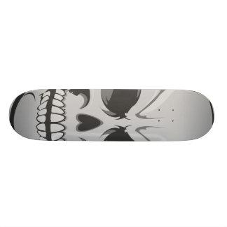 Angry Skull: Vector Art: Custom Skateboard