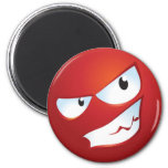 Angry Smile Fridge Magnets