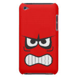 Angry Smiley Face Red iPod Speck Case Case-Mate iPod Touch Case