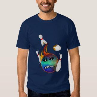 Angry Split Ball T-shirts