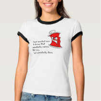 angry spray can tshirt