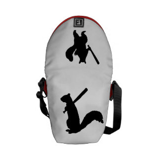 Angry Squirrel Messenger Bag