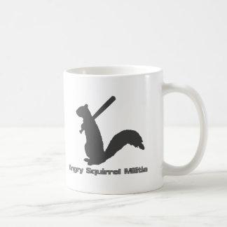 Angry Squirrel Militia Coffee Mug