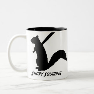 Angry Squirrel Mug (Black)