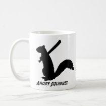 Angry Squirrel Mug (Black)