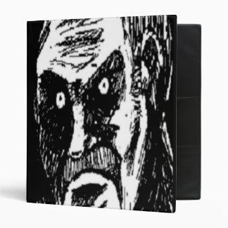 Angry Stare comic face Binders