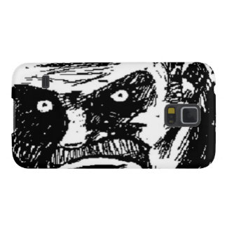 Angry Stare comic face Case For Galaxy S5