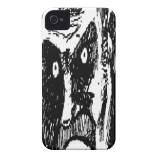 Angry Stare comic face Case-Mate iPhone 4 Case
