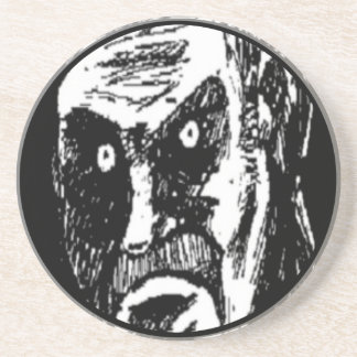 Angry Stare comic face Coaster