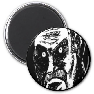 Angry Stare comic face Magnets