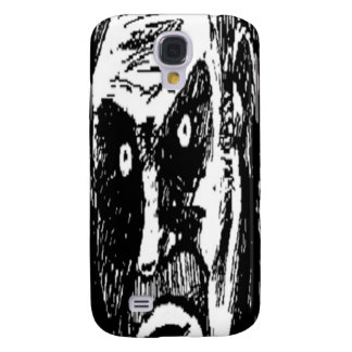 Angry Stare comic face Samsung Galaxy S4 Case