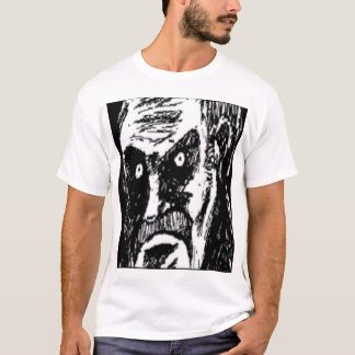 Angry Stare comic face T-Shirt