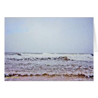 Angry Swooshing Waves Card