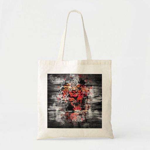 Angry Tiger Budget Tote Bag