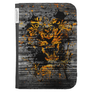 Angry Tiger Kindle Keyboard Covers