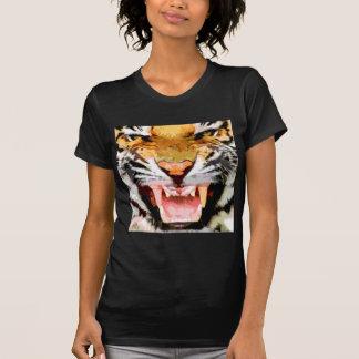 Angry Tiger - Eyes of Tiger T-Shirt